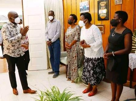 Deputy President William Ruto Visits The Family Of The Late Abraham Kiptanui