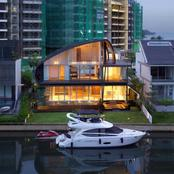The Nautical Lines From Singapore Is A Luxury Waterfront Home With An Outstanding Design!