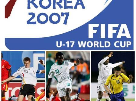 Throwback Photos Of Kroos, Rabiu Ibrahim And James Rodriguez At FIFA U-17 World Cup
