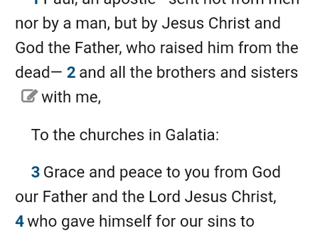 Main Message Of Paul In His Letter To The Galatians And Romans