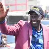 Photos Of DP Ruto Wearing Military Boots Causes Online Stir