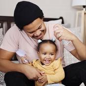 Mzansi Celeb Fathers With Their Kids