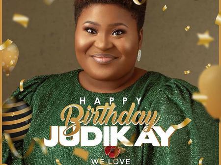 It's Judikay's Birthday