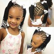 Checkout these beautiful hairstyles for kids