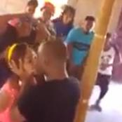 VIDEO: Nigerian Pastor Kissing Member In Front Of Congregation In The Name Of Miracle! |Throwback