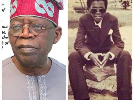 Bola Ahmed Tinubu Is 69 Years Old Today, Checkout His Throw Back Pictures.