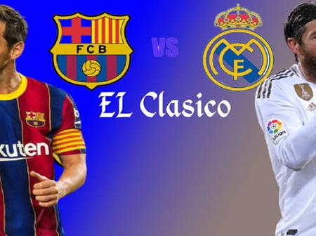 BREAKING: Real Madrid Defeat Barcelona To Move Top Of La Liga