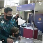 Barcelona Election: Lionel Messi Spotted Casting His Vote