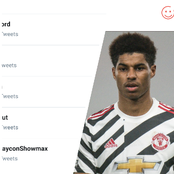Marcus Rashford is currently trending on Twitter, See the reason why he is trending.