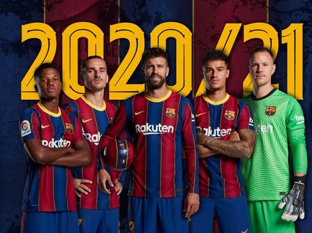 Playmaker not included as Barcelona 2020/21 Champions League Squad Confirmed.