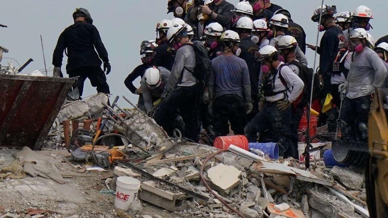 Demolition Teams Prepare to Demolish Remainder of Collapsed Surfside Condo