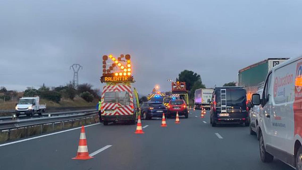 Accident sur l'A9 à Roquemaure : trois personnes blessées dont un bébé