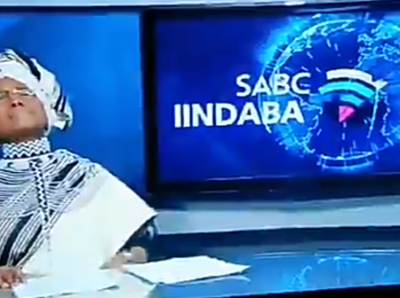 Noxolo Grootboom Got The Entire SA Watching The News As She Bows Out Emotionally