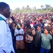 'Kabuchai Shall Not Be Used As A Dumping Site And Laboratory'- Angry Wetang'ula Warns Opponents