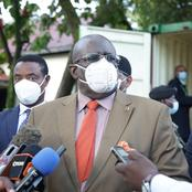 Netizens Reacts to CS Magoha's Statement Concerning Opening of Schools And Flattening of The Curve