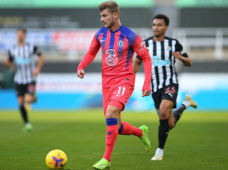 See the records Timo Werner failed to equal in Chelsea's win over Newcastle