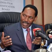 Dr Ezekiel Mutua Sends A Warning To Kenyan Artists