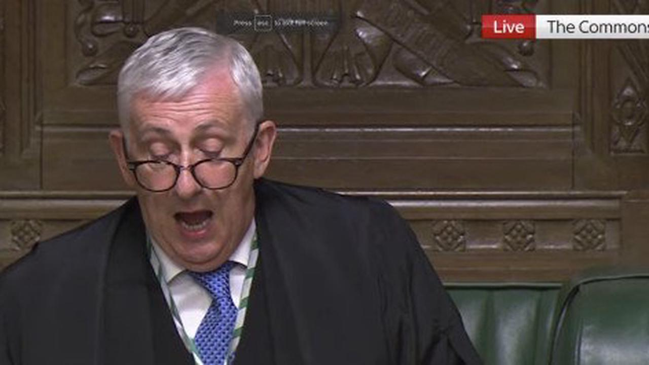 Commons Speaker blasts Boris over 'unacceptable' Freedom Day press conference