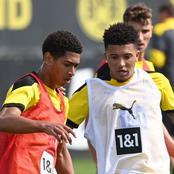 Jude Bellingham explains how Jadon Sancho has helped him settle at Borussia Dortmund.