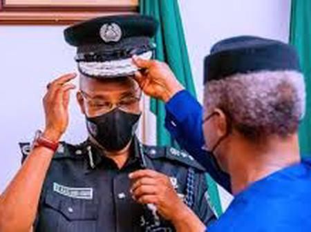 Checkout What Vice President Osinbajo Orders the New IGP to do Inorder to Restore Police Dignity