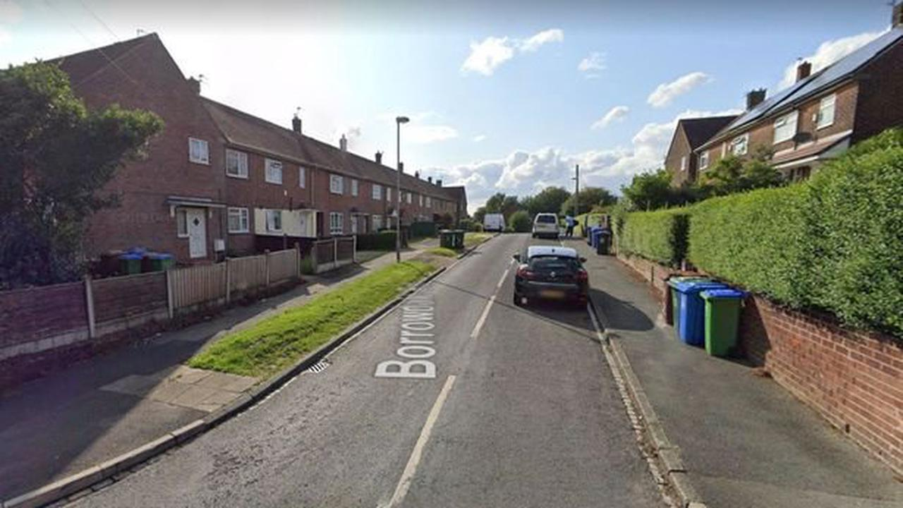 Man attacked after gang of eight robbers burst into his home