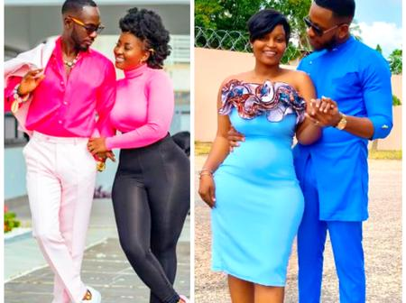 Curve Battle- Between Yolo star Cyril's wife and Okyeame kwame's wife who has nice curve