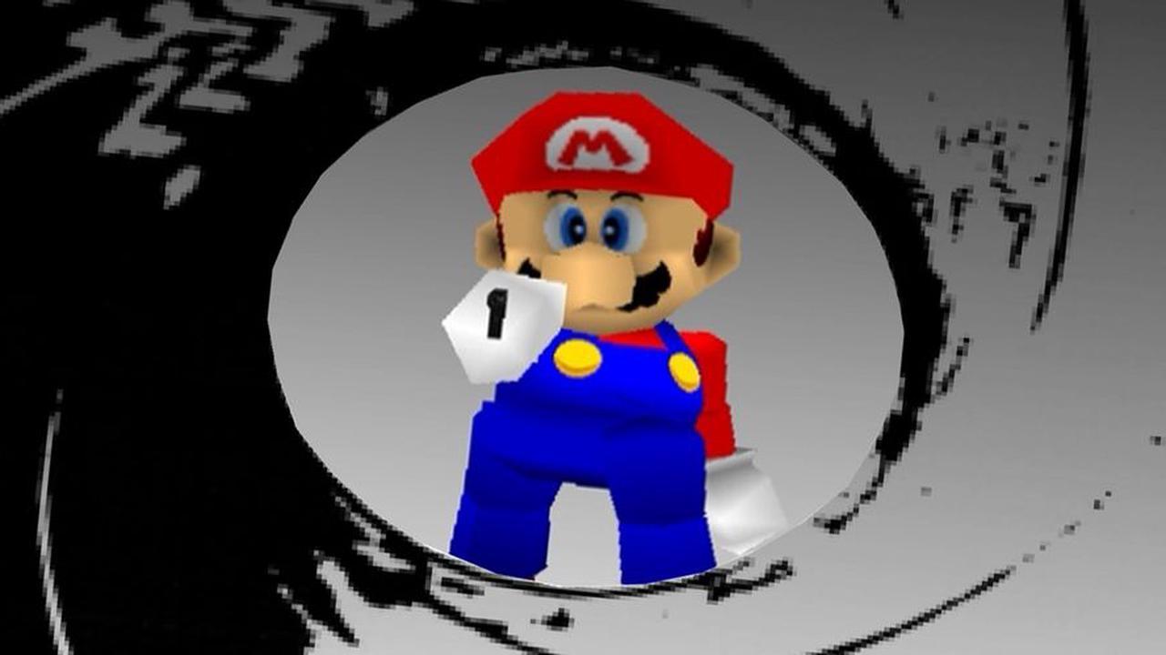Super Mario 64's Castle Appears In Goldeneye 007 Thanks To Modder