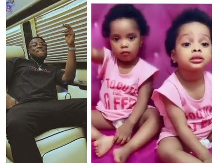 Fans React As Perruzi Shares A Video Of Two Cute Kids On Instagram