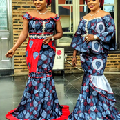 15 Stylish Designs Of Latest Ankara Skirt, Blouse and Gown