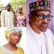 Leah Sharibu's Parents sends letter to President Buhari, read what they wrote here