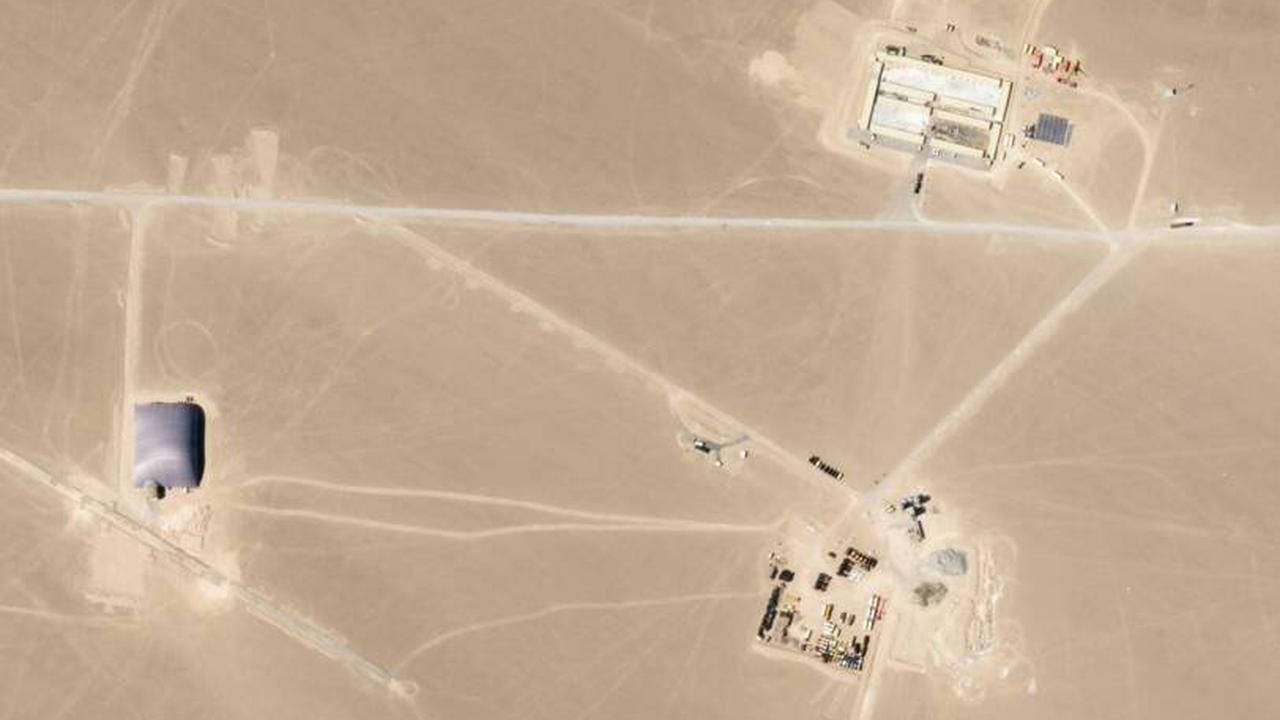 En Chine, un nouveau champ de silos à missiles nucléaires révélé par des images satellites