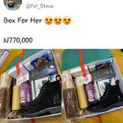 See The N770,000 Valentine Gift Box For Ladies That Is Causing Reactions Online And What It Contains