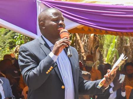 Nandi Governor Stephen Sang Mourns the Death of David Maiyo