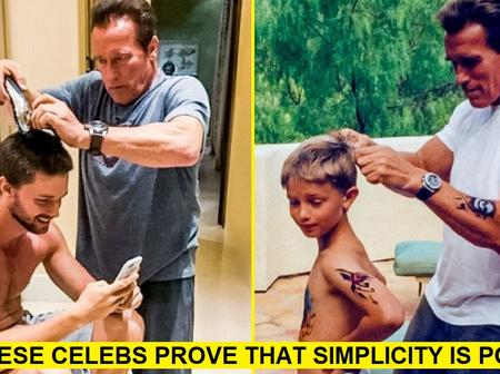 8 Popular Celebs Who Prove That Simplicity Is The Most Powerful Thing