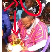 What A Man Was Spotted Doing In A Wedding Ceremony That Got People Talking