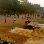 Breaking: Apo Abuja Is On Fire As #ENDSARS Protest Turns Bloody
