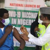 Dr. Ngong Cyprian, is the first Nigerian to receive the Covid-19 vaccine