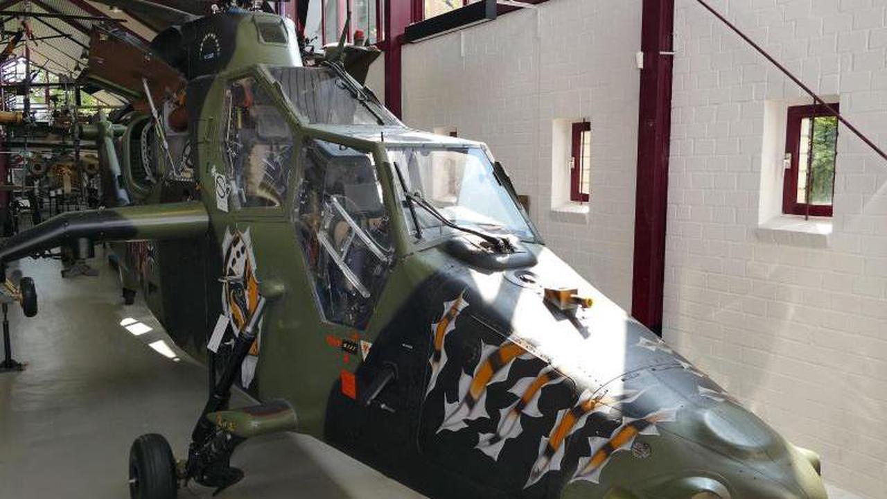 Hubschraubermuseum Bückeburg wird 50 Jahre alt