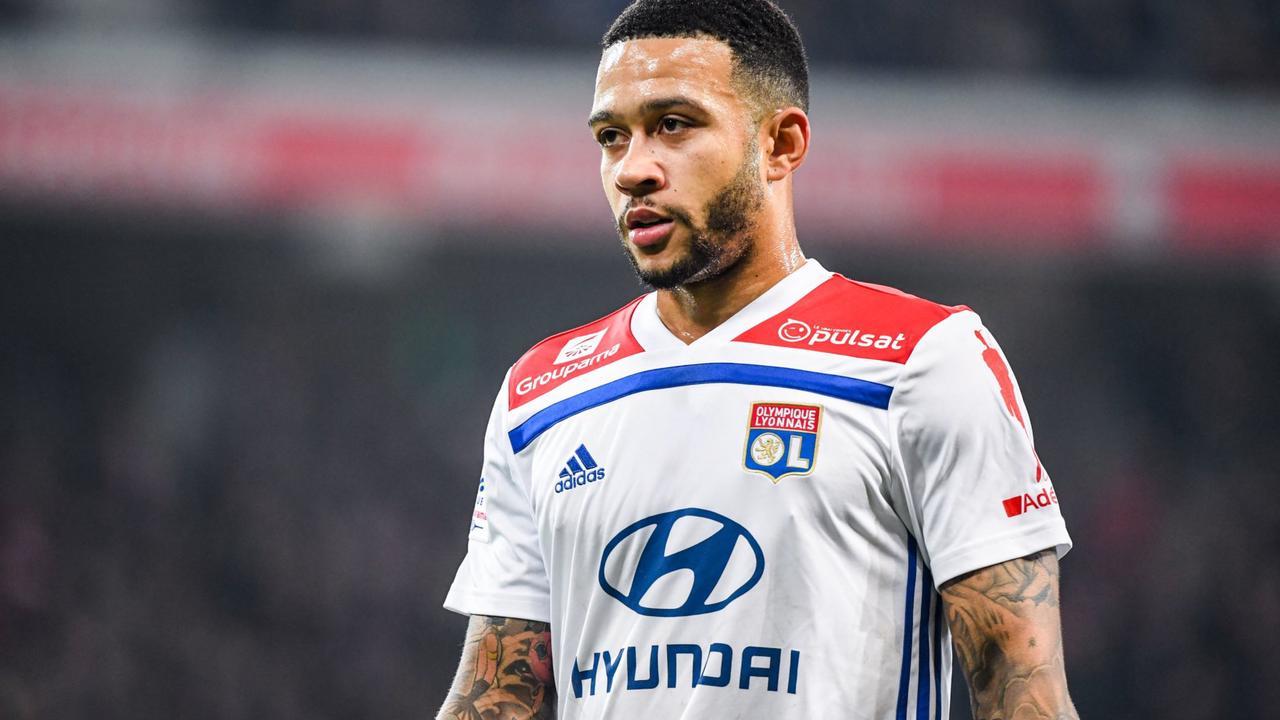 OL: Depay jugé aussi nul avec les Pays-Bas qu'à Lyon