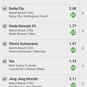 Earn Big Today With 178 Odds In 8 Perfect Games.
