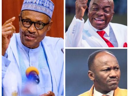 Oyedepo And Pastor Suleman Should Allow God Defend His Church From The Bill Buhari Signed
