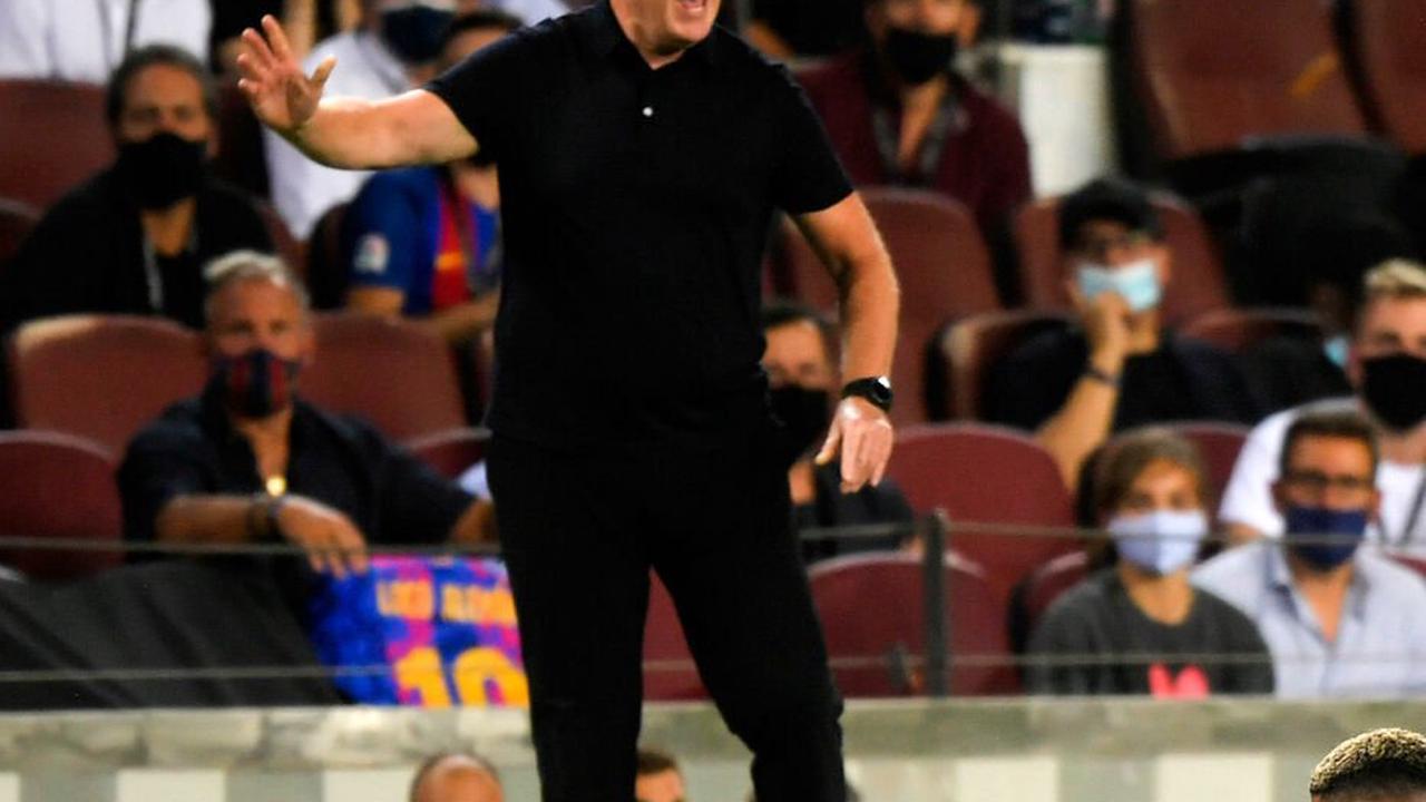 Barça : Ronald Koeman aurait trois matchs pour sauver sa place