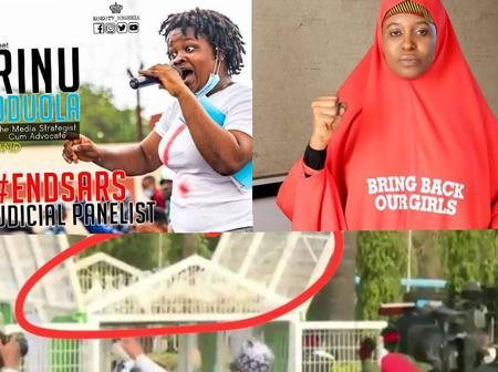 Aisha Yesufu And Rinu React To Buhari's Pigeon Saga