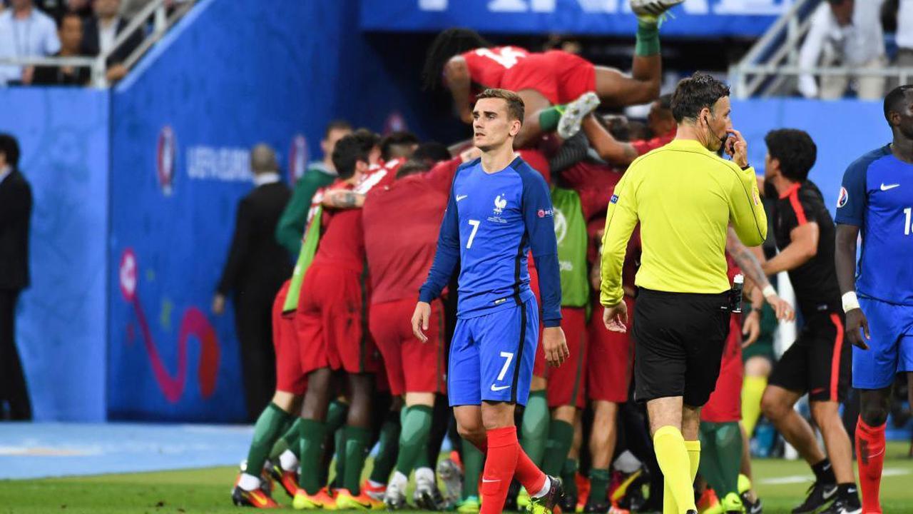 Equipe de France : Griezmann n'a pas digéré la finale de 2016 contre le Portugal