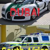 Check Out Multiple Photos Of The Police Cars Used In Different Countries