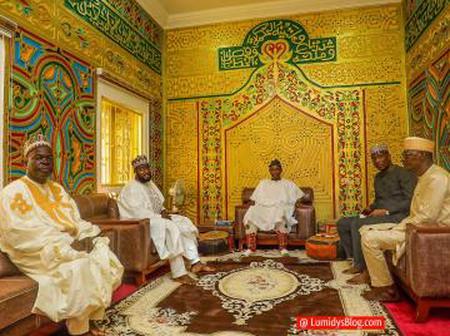 Gagdi performed Eid Prayer in Abuja, Jumaat in Dengi, Celebrates sallah with mum in Gagdi