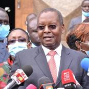 No Prime Minister Seat? Kimunya Raises Eyebrows With His Remark on The BBI
