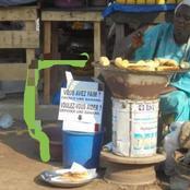 Adjamé: voici la vendeuse de bananes braisées, âgée et généreuse qui fascine tout le monde
