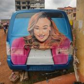 Betty Kyallo To Take 8 People For Lunch After A Fun Shows Her Love With A Photo On A PSV Matatu