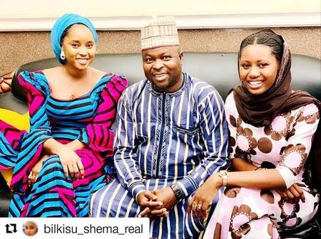 Check Out Lovely Pictures Of Actor Rabiu Rikadawa With Umma Shehu, Momee Gombe And Other Kannywood Stars